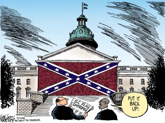 Cartoon by Kevin Siers