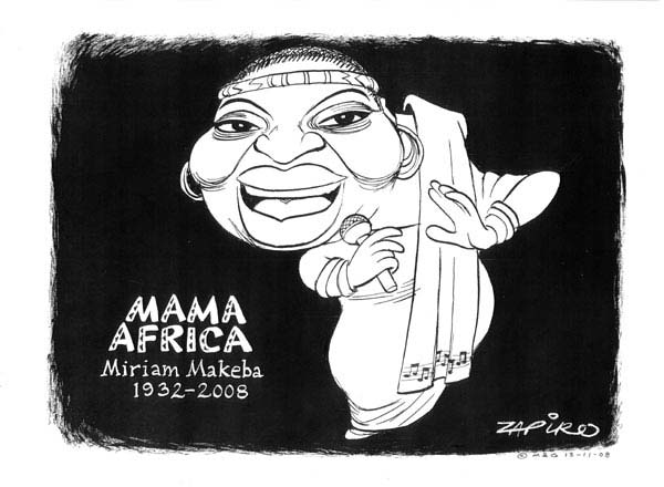 zapiro Go Check it Out: Africas Year in Cartoons cartoons