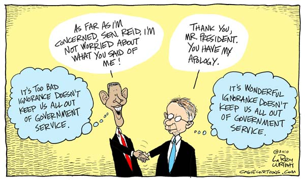 Larry Wright Cartoon for 01/12/2010