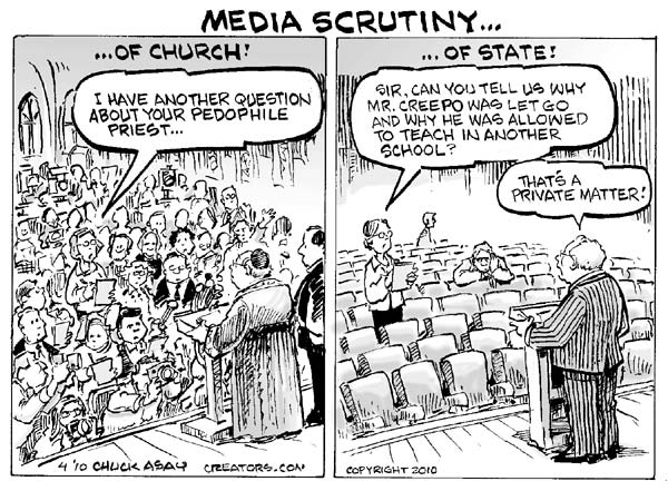 Media scrutiny