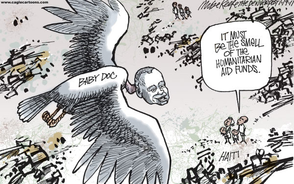 Mike Keefe Cartoon for 01/18/2011