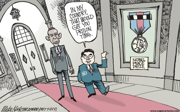 Mike Keefe Cartoon for 01/21/2011