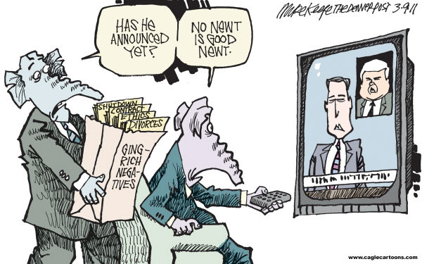 Mike Keefe Cartoon for 03/08/2011