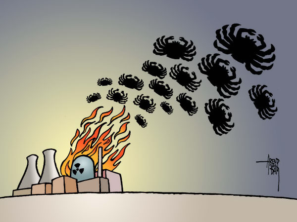 Arend van Dam Cartoon for 03/15/2011