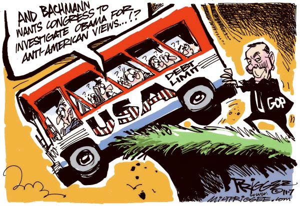 Milt Priggee Cartoon for 07/18/2011