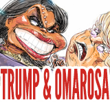 trump and omarosa