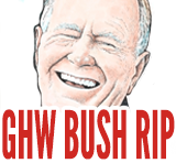George H W Bush death