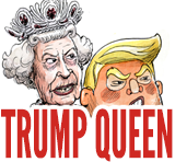 trump and queen